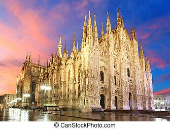 milan cathedral, kupola