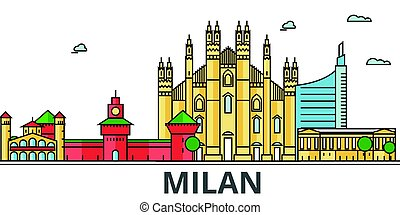 Milano outline Clipart Vector Graphics. 30 Milano outline ...