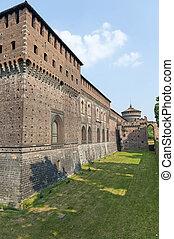Milan (Italy) - Castello Sforzesco