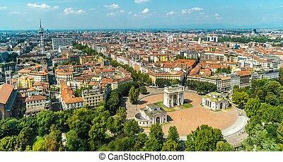 Milan Lombardy Region - Milan, Northern Lombardy Region. ...