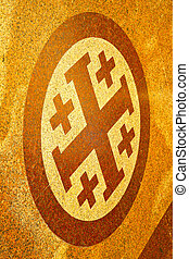 milan old in italy church abstract background stone