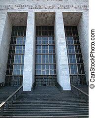 milan, palais justice, bâtiment