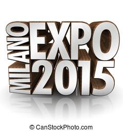 Milano Expo 2015 wood