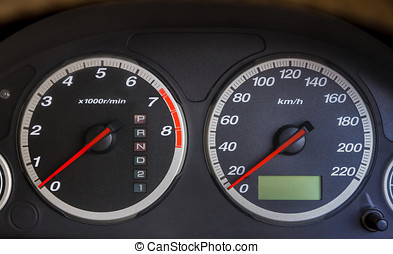 Mile for see speed driving.