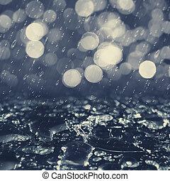 milieu, abstract, achtergronden, herfstachtig, desig, regen, jouw