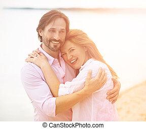 milieu, couple, vieilli