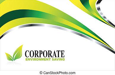 milieu, groene achtergrond