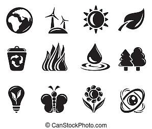 milieu, iconen
