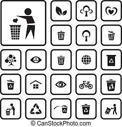 milieu, pictogram