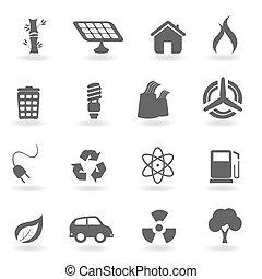 milieu, symbolen, ecologie