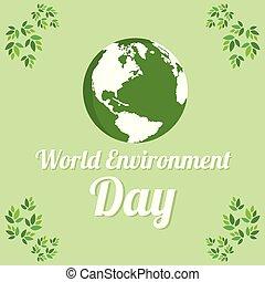 milieu, woord, ontwerp, dag, aarde