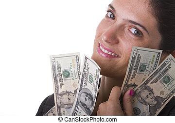 Milionaire woman