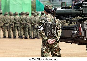 militär basera, japansk