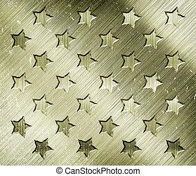 militär,  grunge, Stjärnor