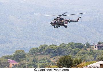 militär, Helikopter, luft