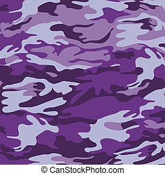 militär, kamouflage, purpurfärgad fond