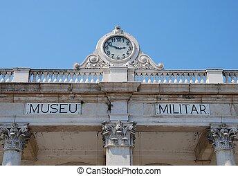 militär, museum, lissabon