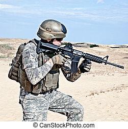 militär, operation