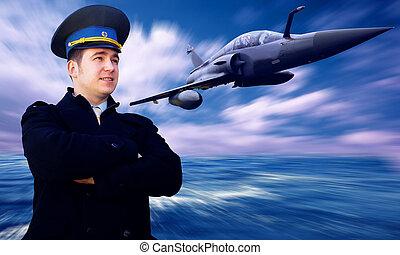 militärisk flygmaskin, hastighet, pilot