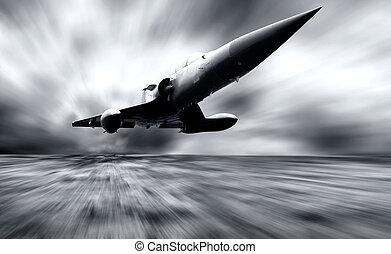 militärisk flygmaskin, hastighet