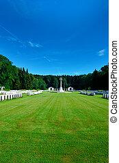 militärisk kyrkogård