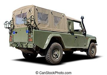 militäriskt fordon