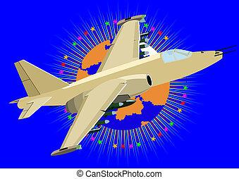 militær flyver