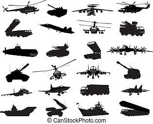 militær, sæt