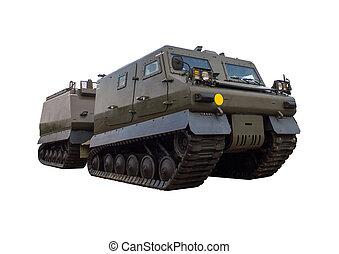 militært køretøj