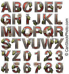 militaer, alphabet