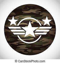 militaer, emblem