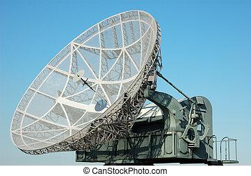 militaer, satellit, d