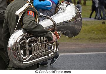militaer, trompete