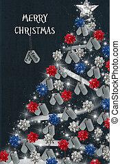 militair, kerstmis