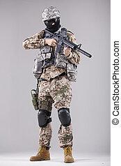 militair, man