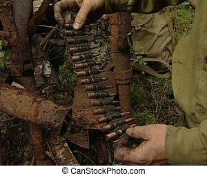 militair, munitie