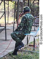 militair, opleiding