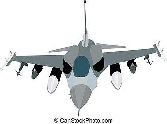 militair, straalvliegtuig