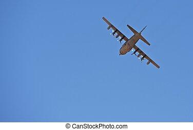 militaire, avion cargaison