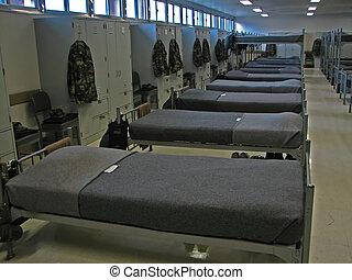 militaire, bunks