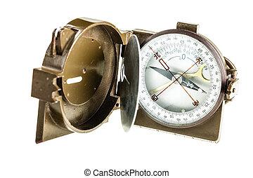 militaire, compas