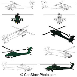 militaire helikopter