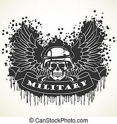militaire, symbole