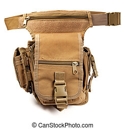 militaire, taille, sac