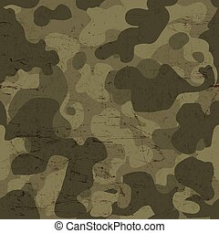 militaire, vecteur, pattern., seamless, camouflage