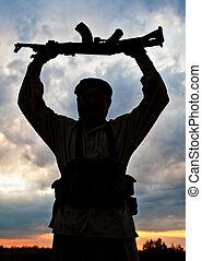 militante, muçulmano
