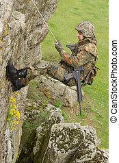 militar, alpinism