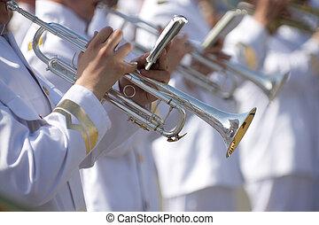 militar, banda