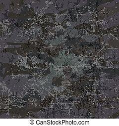 militar, cópia, fundo, (vector), espaço