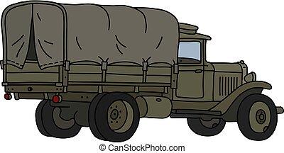 militar, caminhão, clássicas